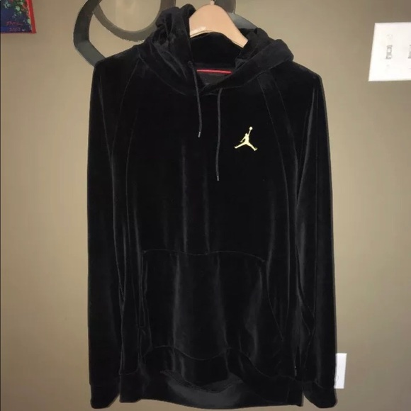 online store cf6c4 529ad Jordan Other - Air Jordan velour hoodie
